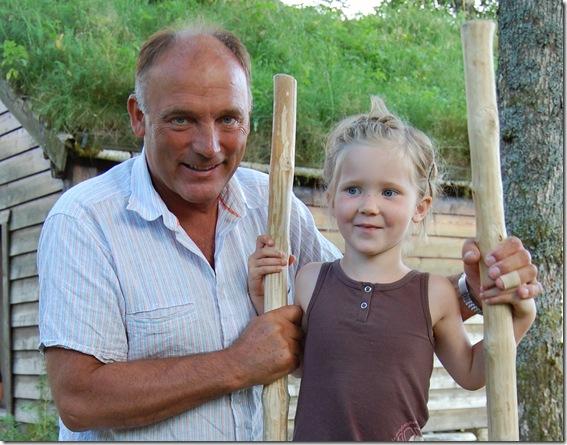 elisa og bestefar 2