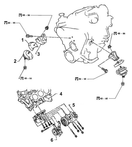 Infiniti QX4 Engine DiagramV4 Engine Diagram
