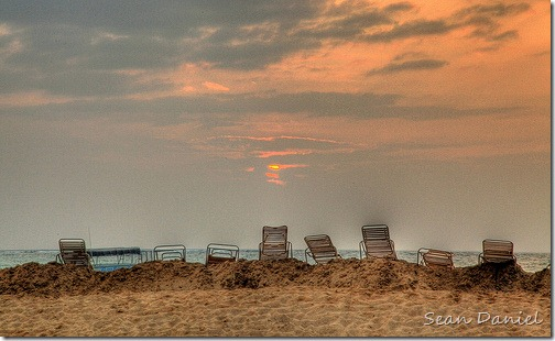 Lonely Beach Chairs