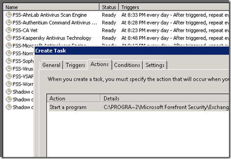 Task Scheduler Create Task
