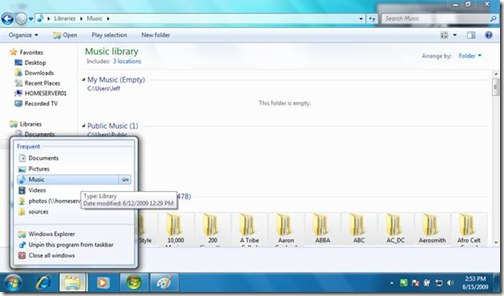 Windows 7 Libraries