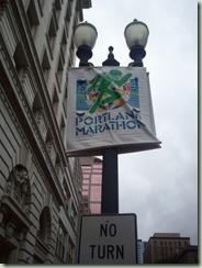 portland marathon sign