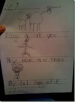 levi's writing