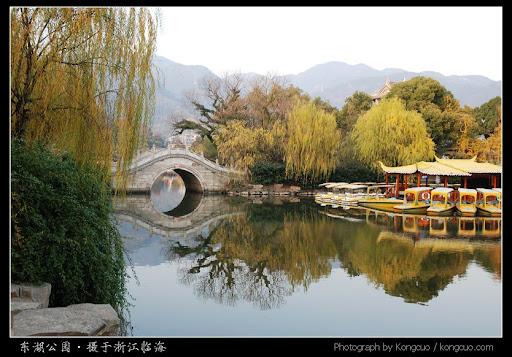 浙江-临海-东湖公园