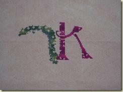 Nora's Letter K 6-13-09