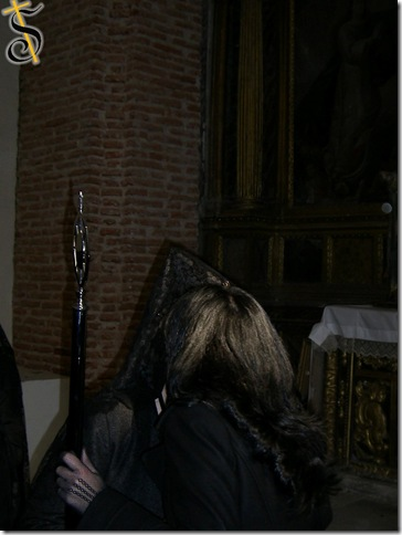 Entrega Vara Virgen de la Soledad 2.008