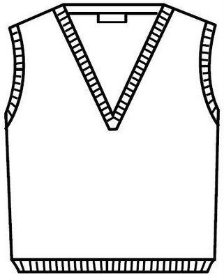 Dibujo de chaleco