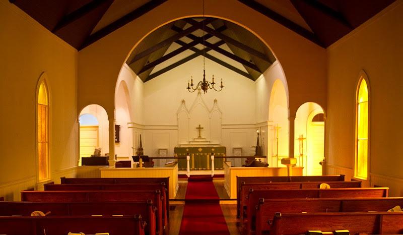 Interior of Christ Episcopal Church in Cordele, Georgia