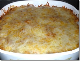 Mexican casserole 3 - baked