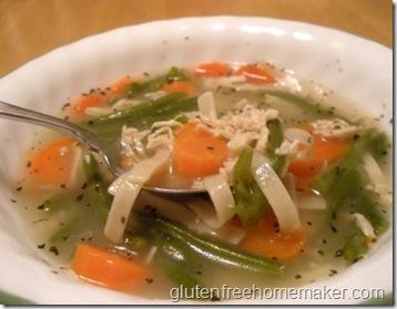chicken veggie pasta soup