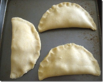 pizza pockets on tray