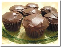 BC Choc cupcakes