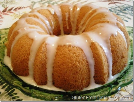 lemon bundt cake whole