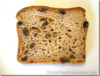 Rudi's cinnamon raisin bread