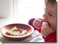 baby makan