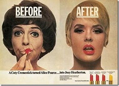 ALICE PEARCE LIPSTICK AD