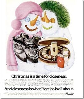 norelco christmas