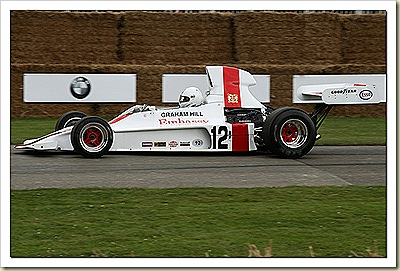 1973 Shadow DN1 Ford Cosworth Hill Racing F1