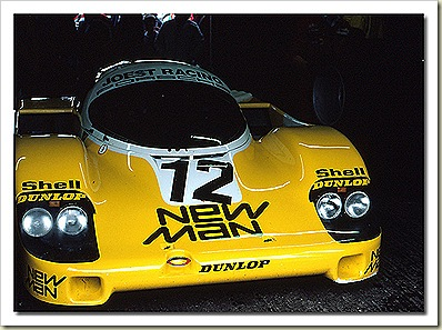 Joest Newman Porsche 956