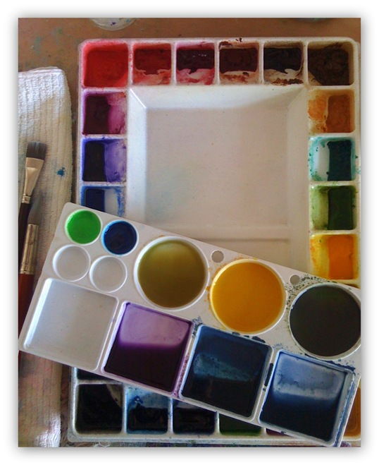 Original Palette with shadow