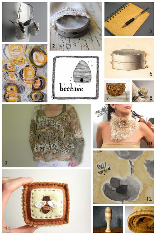 Honey Finds Collage