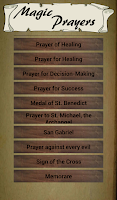 Screenshot of Magic Prayers