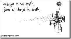 peur du changement
