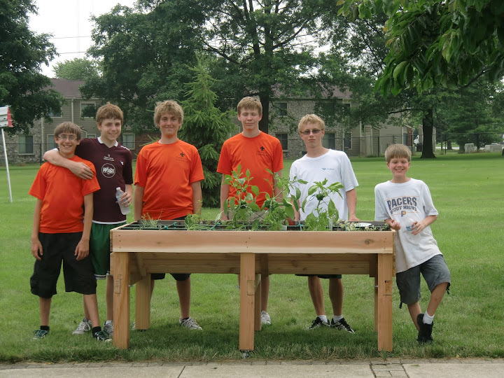 Carmel Boy Scouts Nick Baldini Eagle Scout Project.