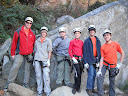 Boy Scouts of Troop 132 at Red River Gorge in Kentucky