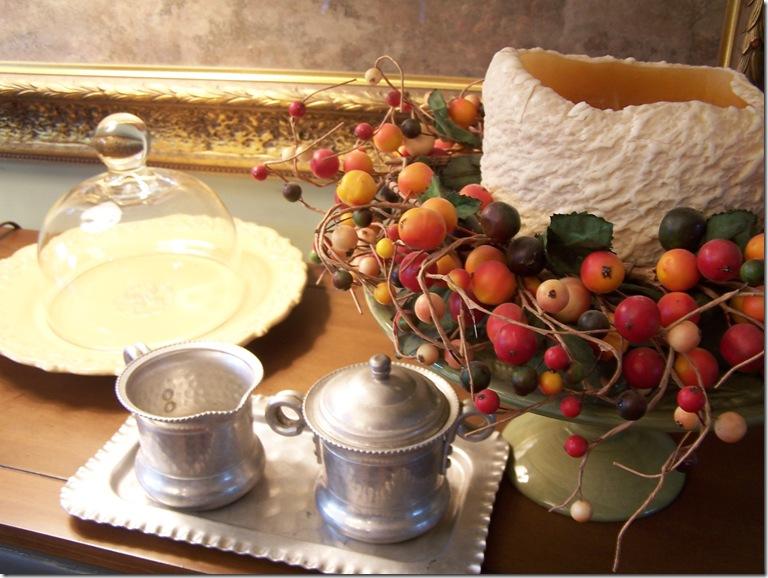 Strawberry Crepes and Sugar Creamer Set 014