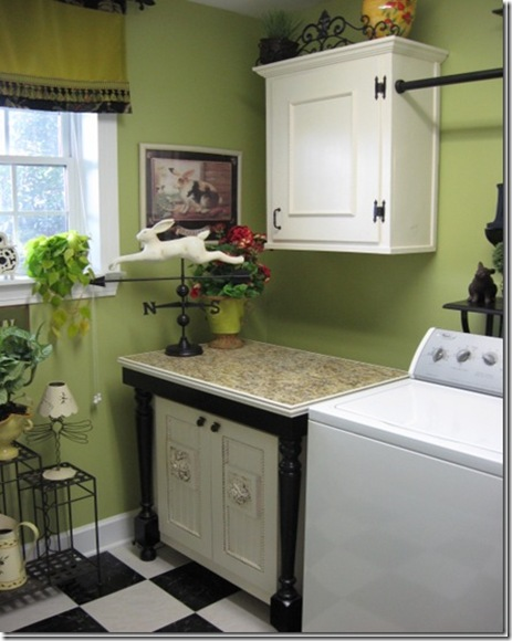 Southern Hospitality Laundry Room