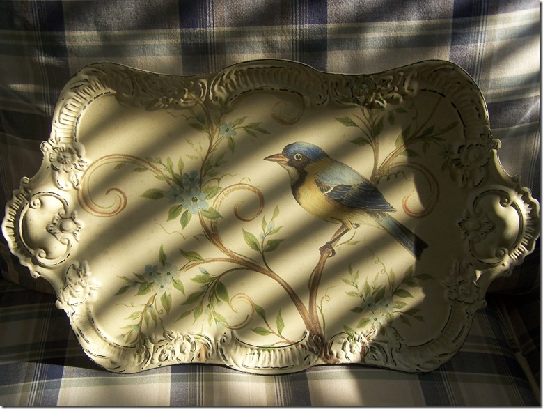 Pier One Tray with Bird 005