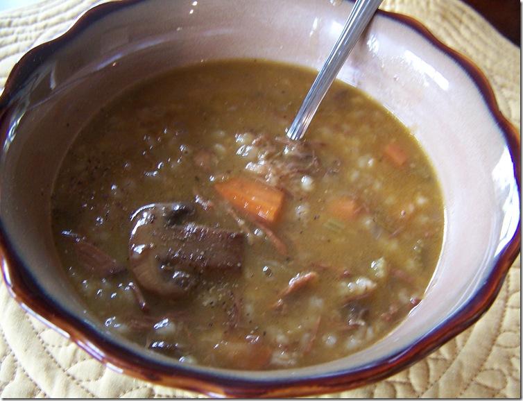 Beef Barley Soup 013