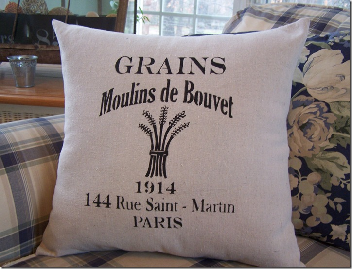 French Pillow 016