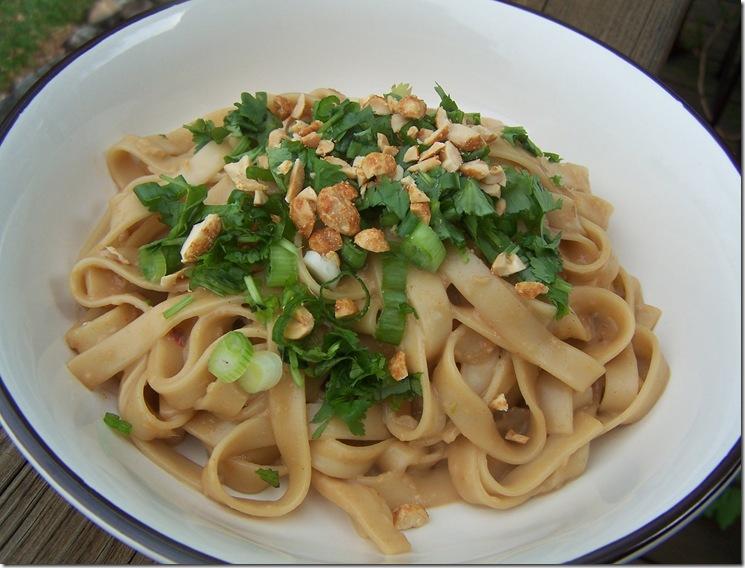 Thai Peanut Noodles 004