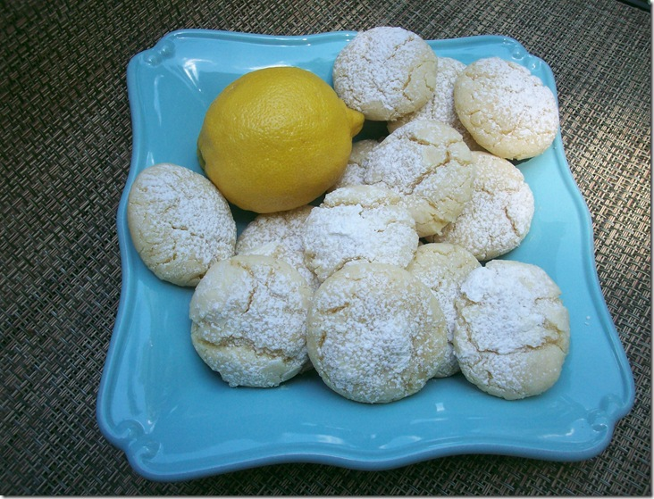 Lemon Crinkle Cookies 023