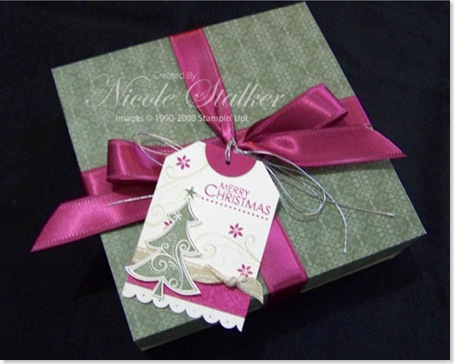 Project 5 - Gift Box & Tag