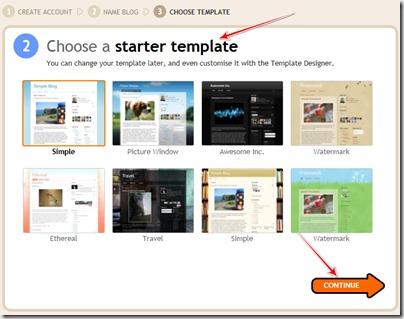 make blogger blog4