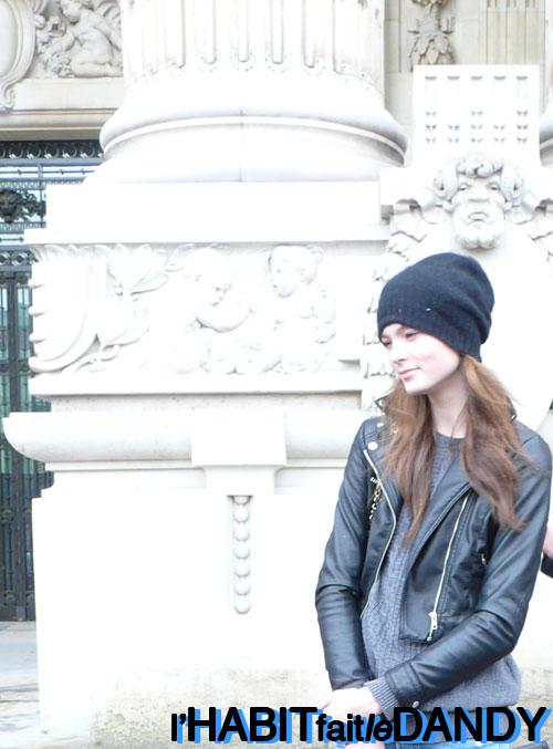 Chanel's model