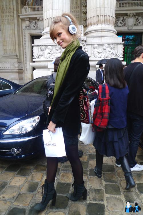 Chanel model été 2010