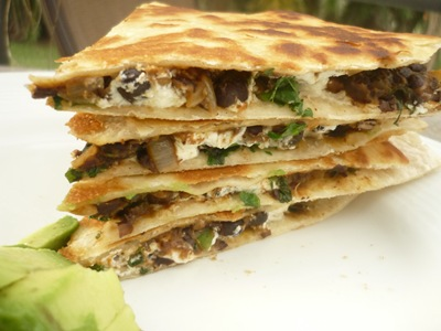 goat cheese quesadillas sweet potato and black bean quesadillas with ...