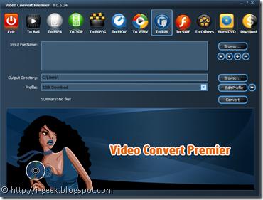 video convert premier