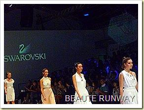 Swarovski at Audi Fashion Festival Jayson Brunsdon Dress 31