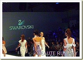 Swarovski at Audi Fashion Festival Jayson Brunsdon Dress 33
