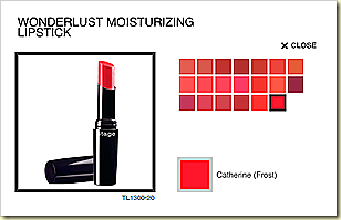 stage cosmetic wonderlust lip stick