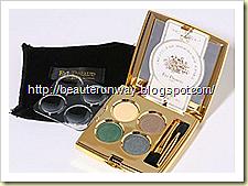 ed pinaud eyeshadow smoky emerald  palette beauterunway