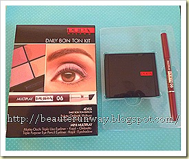 Pupa 4 eyes kit daily bon ton eye shadow eaute runway