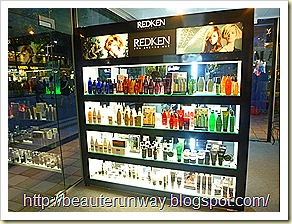 redken her world glass house