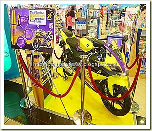 maybelline bike