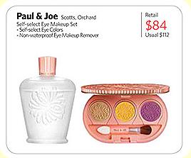paul & joe eye color promo